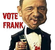 Frank Underwood by thehippievegan