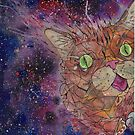 lil bub Painting Poster print phone case by Jp87cents