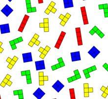 Tetris Blocks Sticker