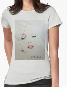 Marilyn, Charcoal and Pastel T-Shirt