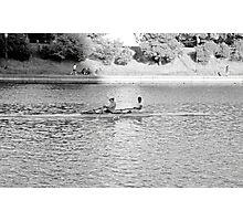 Lake Merritt Rowers Photographic Print