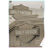 Vintage Harley Sign Poster