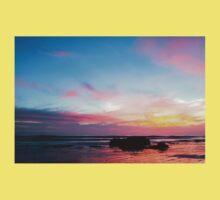 Sunset Handry's Beach Baby Tee