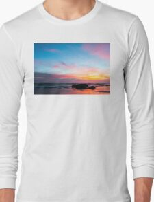 Sunset Handry's Beach Long Sleeve T-Shirt