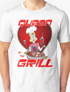 Queen of the Grill White T-Shirt