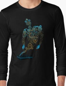 Tattoo Ghost's Ink Memories Long Sleeve T-Shirt