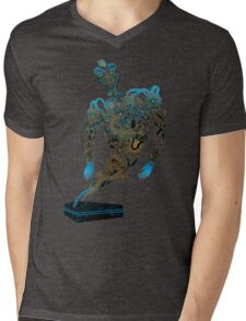 Tattoo Ghost's Ink Memories Mens V-Neck T-Shirt