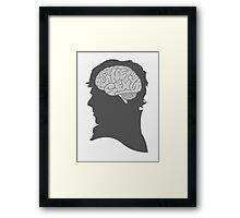 Sherlock - Brainy Is The New Sexy Framed Print