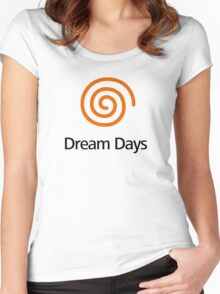 Dreamcast (Old School Shirt) Version.03 Women's Fitted Scoop T-Shirt