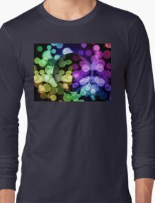 Abstract Globe Long Sleeve T-Shirt