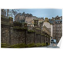 The castle from Candlemaker Row Poster