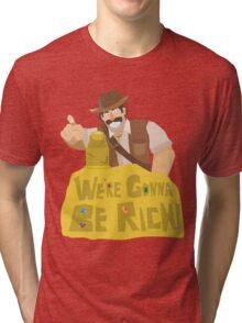 Hearthstone - Reno Jackson Tri-blend T-Shirt