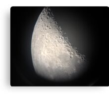Moon Number 6 Canvas Print