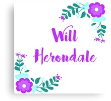 Will Herondale ( The Infernal Devices ) Canvas Print