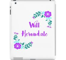 Will Herondale ( The Infernal Devices ) iPad Case/Skin