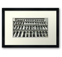 Thomas & Broadway Framed Print