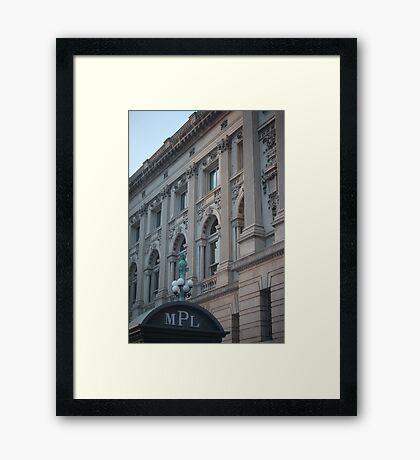 Milwaukee Public Library Framed Print