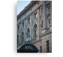 Milwaukee Public Library Canvas Print