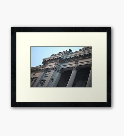 Step up your personal development and read a book! Framed Print