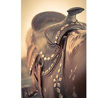 Riding The Saddle Again Photographic Print