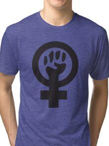Feminist (black) Tri-blend T-Shirt