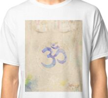 Om old book water Classic T-Shirt