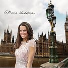 Kate Middleton and the Houses of Parliament by Dulcina