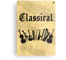 Classical Metal Print