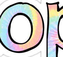 AOPI Tie Dye Sticker