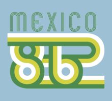 Retro Mexico '86 vintage soccer shirt by Speedy78