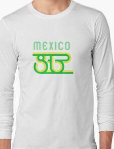 Retro Mexico '86 vintage soccer shirt Long Sleeve T-Shirt