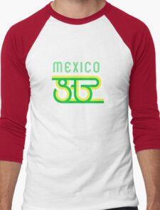 Retro Mexico '86 vintage soccer shirt Men's Baseball ¾ T-Shirt