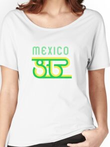 Retro Mexico '86 vintage soccer shirt Women's Relaxed Fit T-Shirt