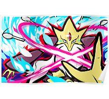 Mega Alakazam | Psyshock Poster