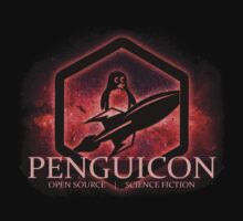 Ltd Edition Red Penguicon Galaxy by Penguicon