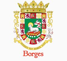 Borges Shield of Puerto Rico Unisex T-Shirt