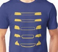 Subaru Legacy Generations Unisex T-Shirt