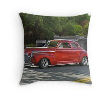 1941 Chevrolet 'Super Deluxe' Coupe Throw Pillow