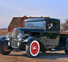 1932 'Farm Fresh' Ford Pick-Up Truck by DaveKoontz
