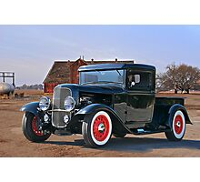 1932 'Farm Fresh' Ford Pick-Up Truck Photographic Print