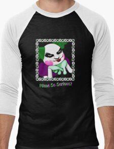 Mime So Serious? Men's Baseball ¾ T-Shirt