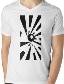 Starburst Mens V-Neck T-Shirt