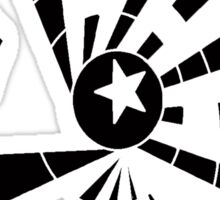 Starburst Sticker