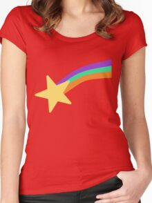 Mabel Pines Sweater Women's Fitted Scoop T-Shirt