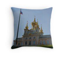 Peterhof Russia Throw Pillow