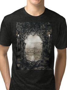 Awoken from death. Tri-blend T-Shirt