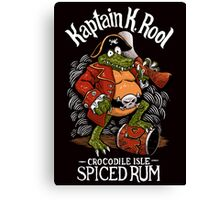 Kaptain's Rum Canvas Print