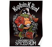 Kaptain's Rum Poster