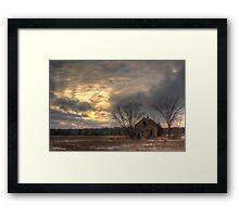Lonely House-Landscape Framed Print