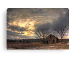 Lonely House-Landscape Canvas Print